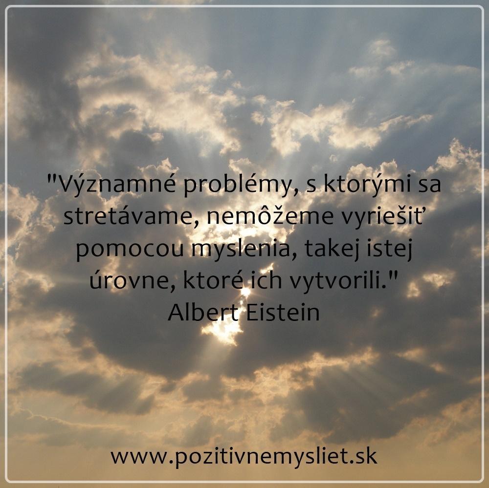 Citát o riešení problémov