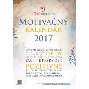 Obálka Motivačný kalendár 2017