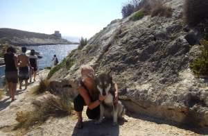 Patrícia Achami - Výlet na ostrove Gozo