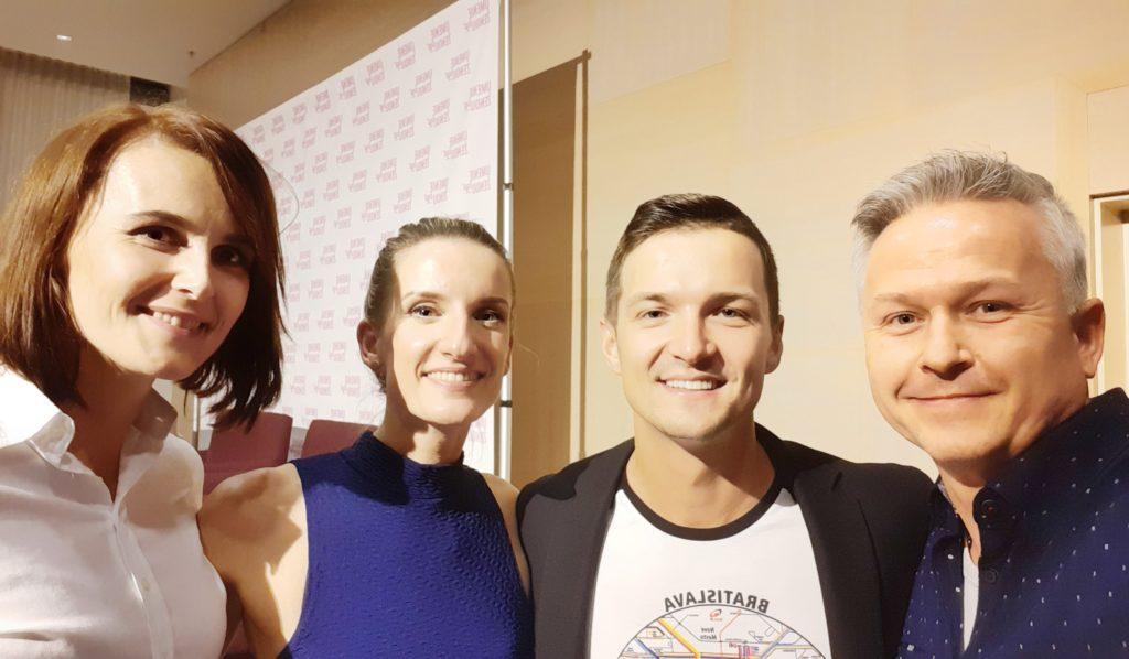 Evka Zaťková, Adela Vinczeová, Viktor Vincze, Miroslav Zaťko