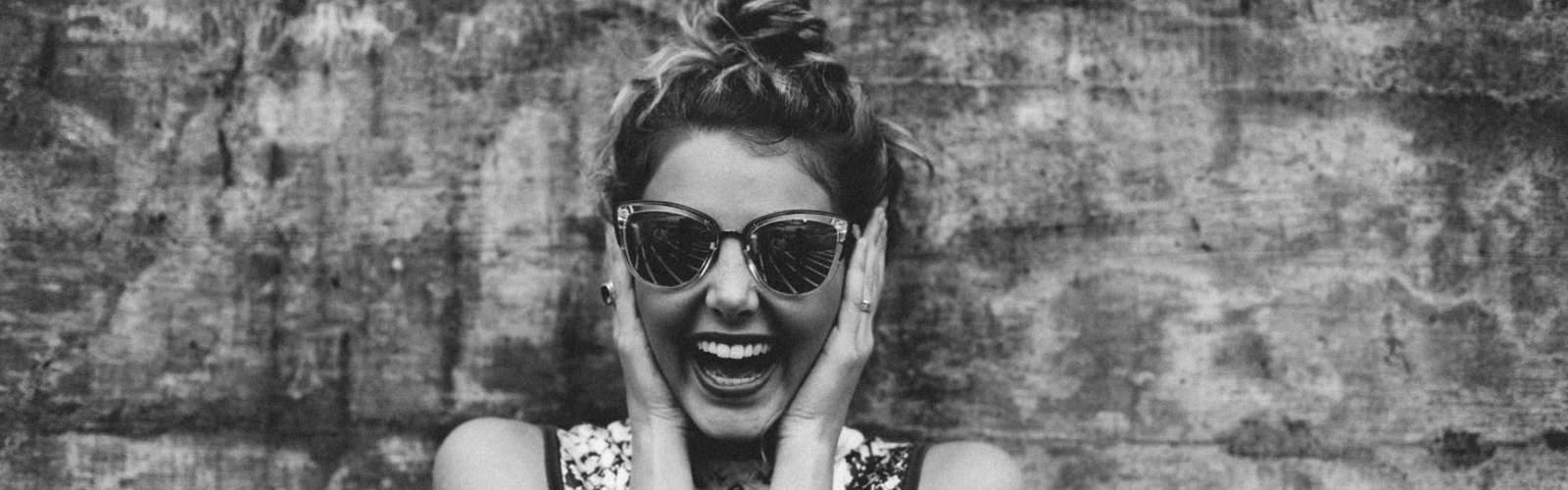 Usmiate dievča