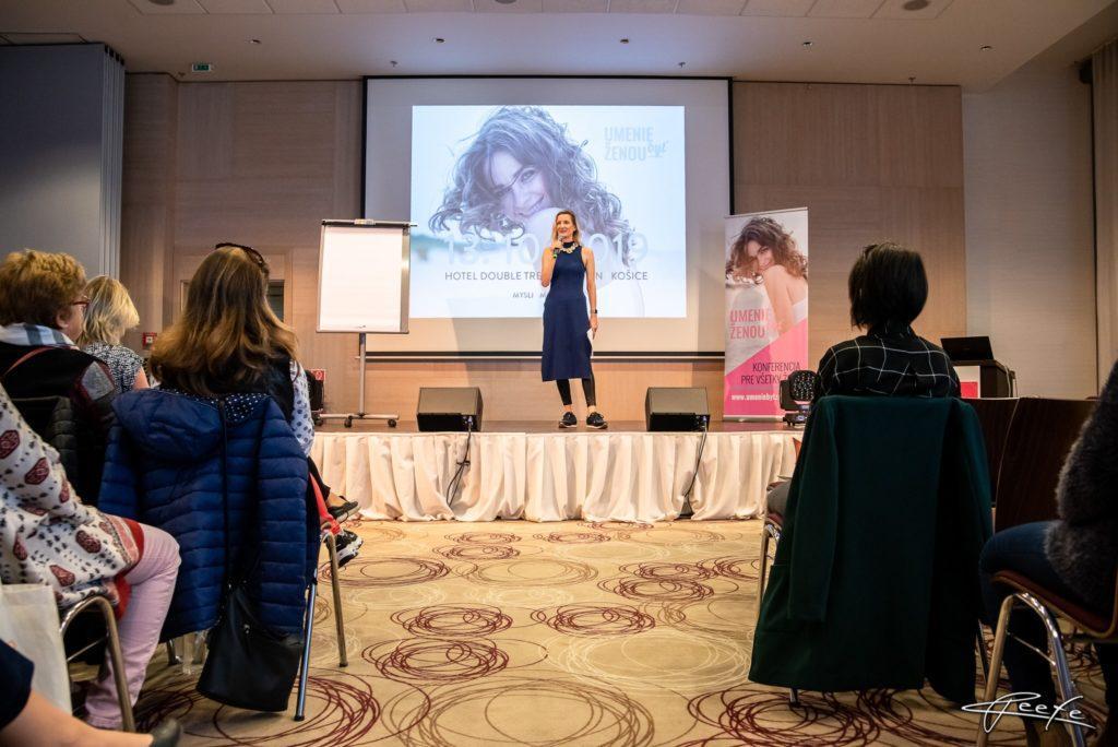 Konferencia Umenie byť ženou - Košice 2019
