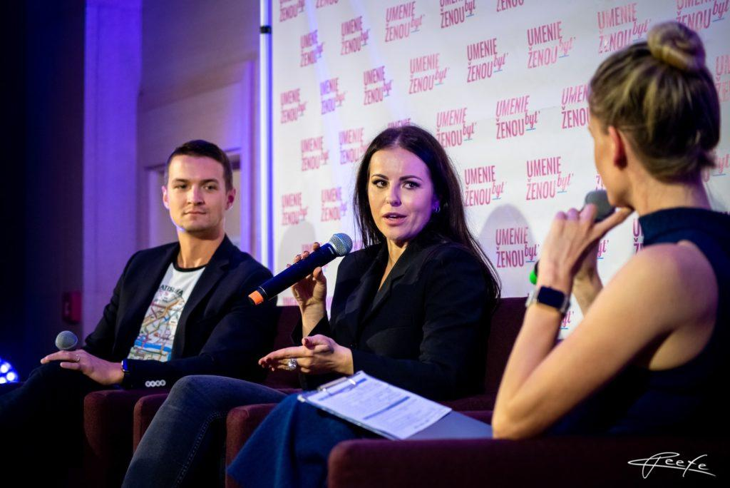 talkshow Adely Vinczeovej s Katkou Knechtovou a Viktorom Vinczem.