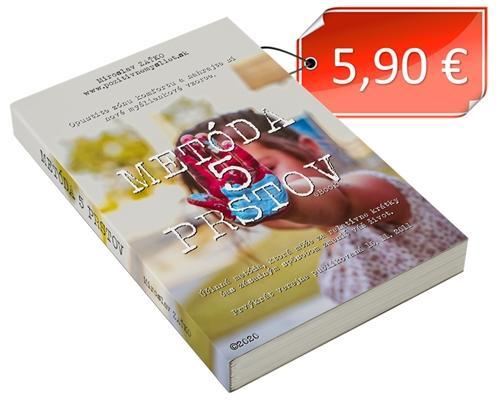 Cena eBook Metóda 5 prstov